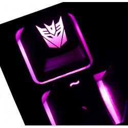Decepticon ABS Backlit Keycap
